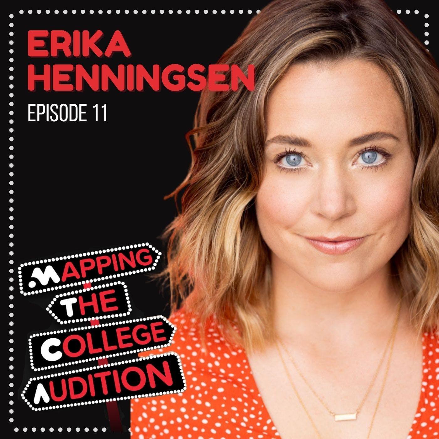 Ep. 11 (AE): Erika Henningsen (Broadway's Mean Girls) on being a Scholastic Sponge